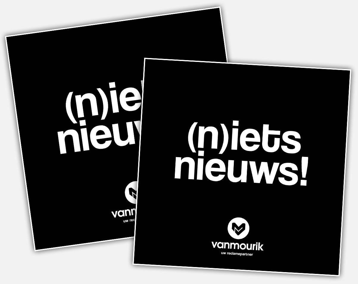 Brochure Van Mourik reclame